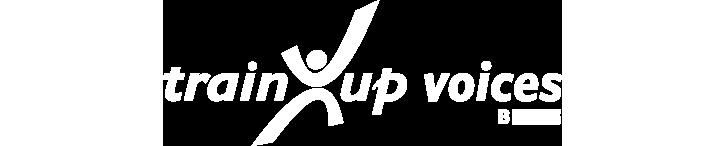 TrainUp Voices logo
