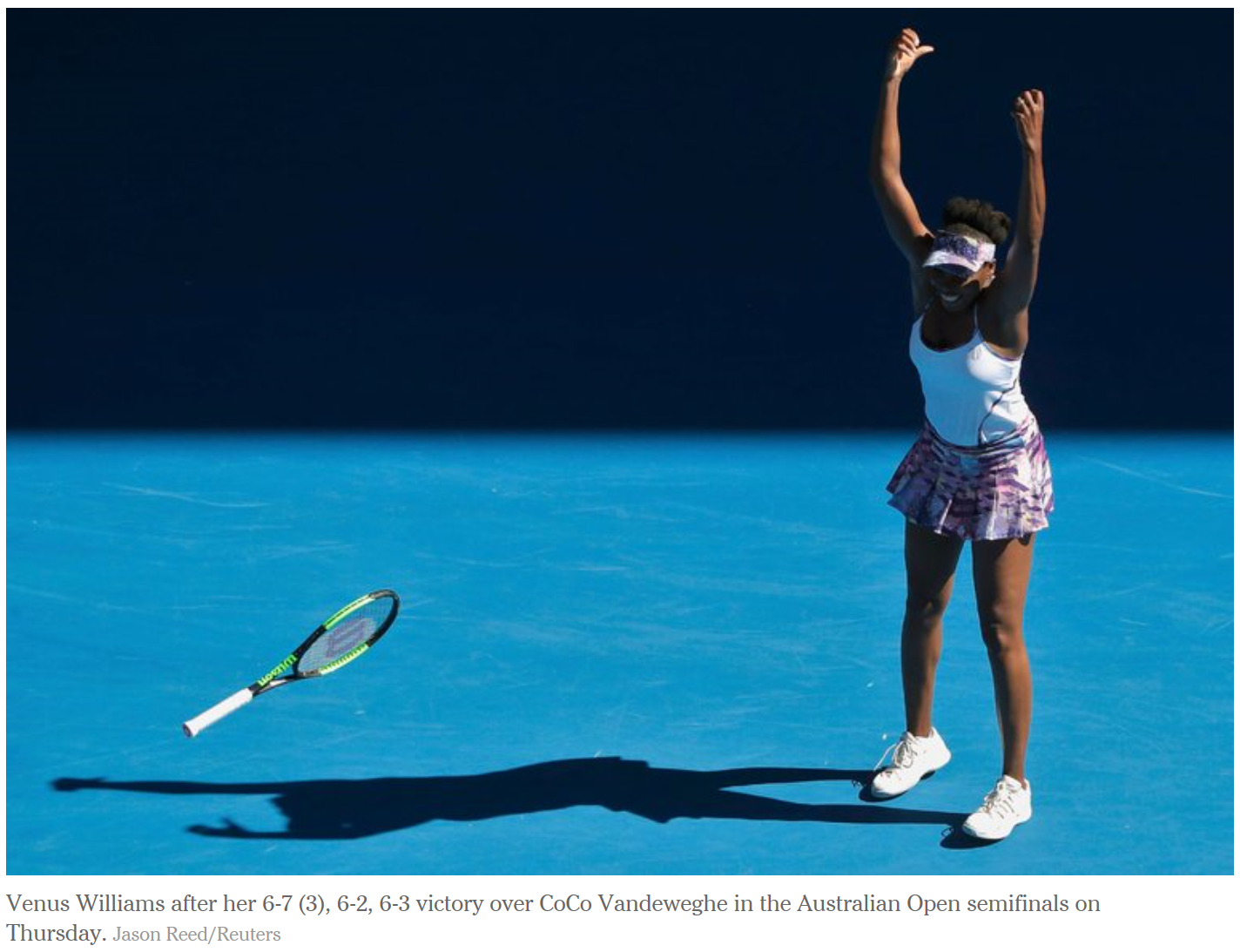 Inspired by Venus: What leaders can learn from Venus Williams' amazing Australian Open run