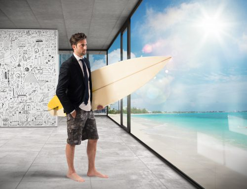 Why is using vacation time so stressful?