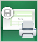 Saving and Printing Data in Excel 2013 (Update Avail.)