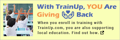 TrainUp Gives Back