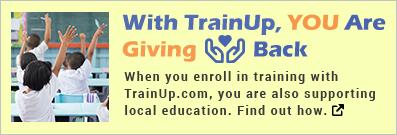 TrainUp Gives Back