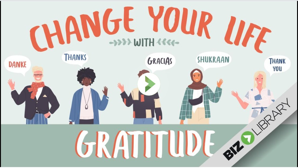 Change Your Life with Gratitude