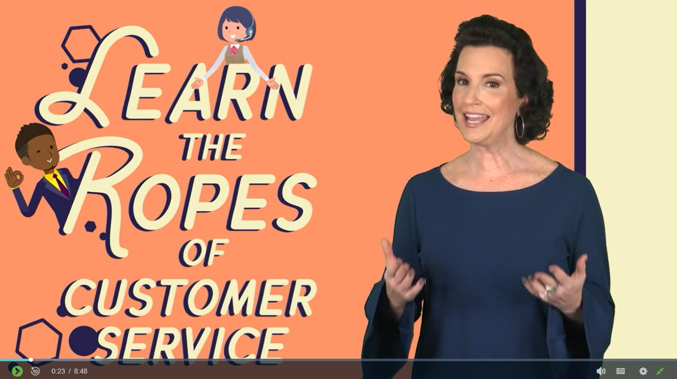 Learn the Ropes of Customer Service